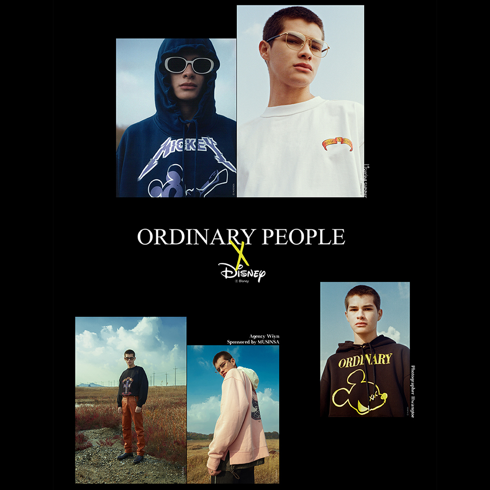 2018 F/W<br>ORDINARY PEOPLE X DISNEY<br>with MUSINSA