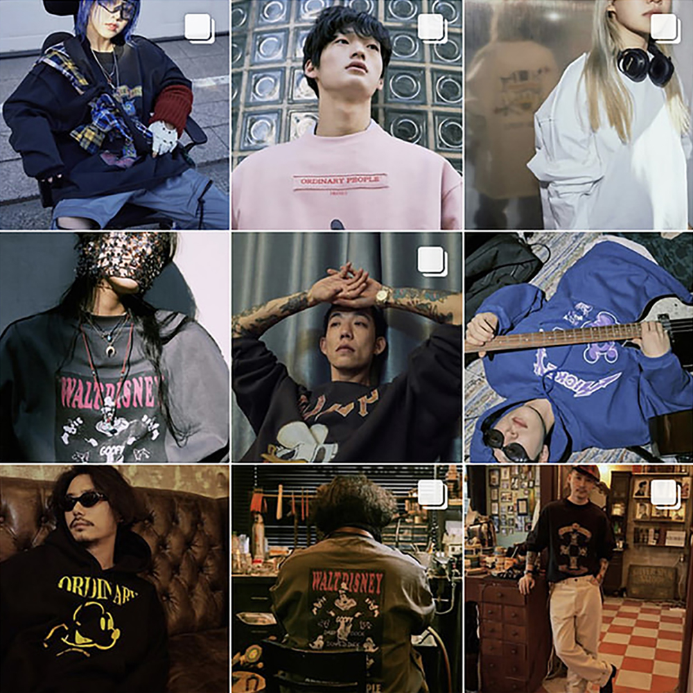 2018 F/W<br>ORDINARY PEOPLE X DISNEY<br> with VARIOUS ARTISTS